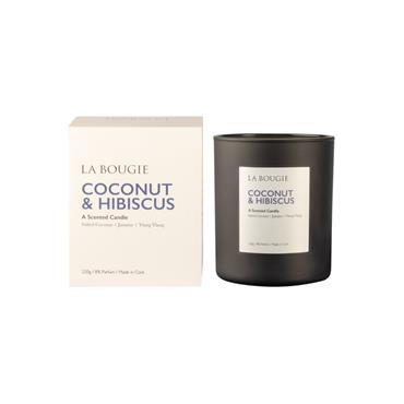 LA BOUGIE CANDLE COCONUT AND HIBISCUS