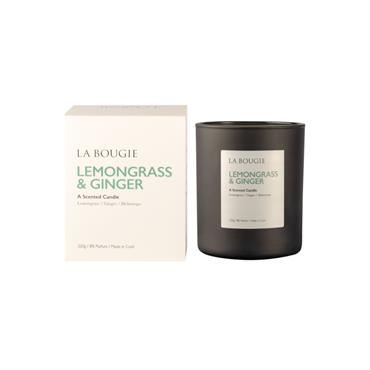 LA BOUGIE CANDLE LEMONGRASS AND GINGER