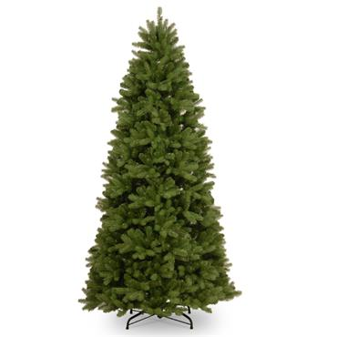 NEWBERRY  SPRUCE REAL FEEL SLIM 7.5FT ARTIFICIAL CHRISTMAS TREE