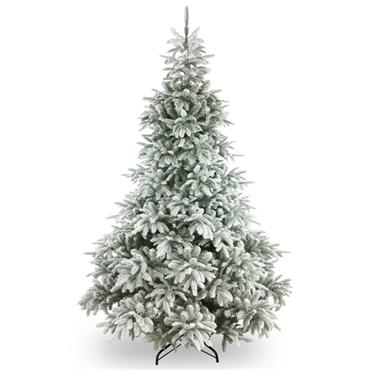 FROSTED ANDORRA FIR REAL FEEL 7.5FT ARTIFICIAL CHRISTMAS TREE