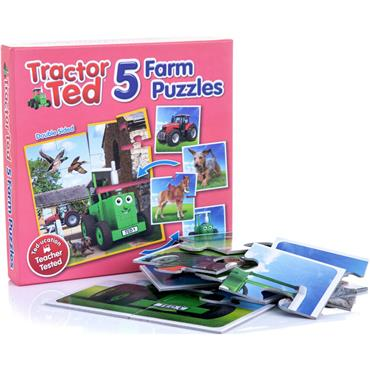 TRACTOR TED 5 PIECE JIGSAW