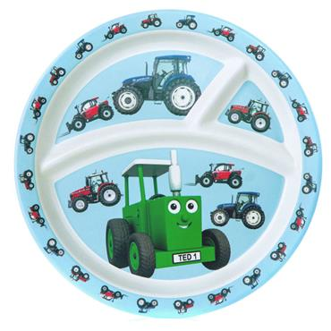 TRACTOR TED BAMBOO DIVIDER PLATE