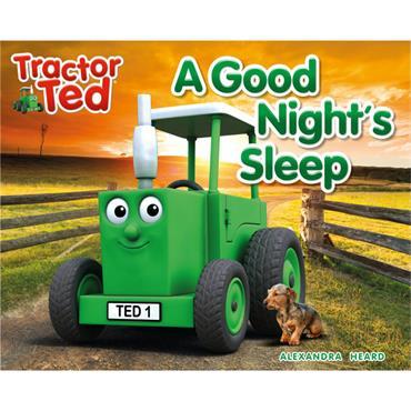 TRACTOR TED BOOK A GOOD NIGHTS SLEEP
