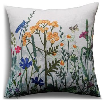 LG OUTDOOR SCATTER CUSHION WILDFLOWERS