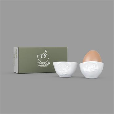 EGG CUP SET OH PLEASE/TASTY
