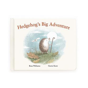 JELLYCAT HEDGEHOGS BIG ADVENTURE BOOK