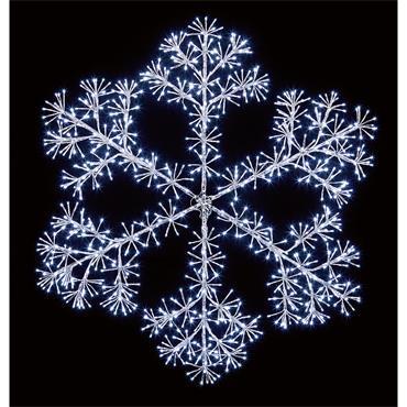 SNOWFLAKE 1.2M SILVER
