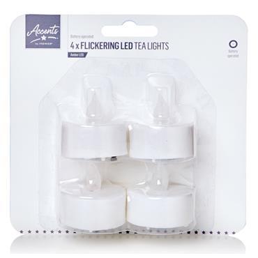 TEA LIGHTS 4PK