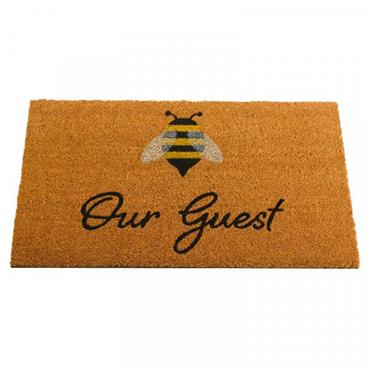 OUTDOOR MAT BEE OUR GUEST