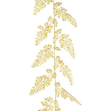 FLORALSILK MAIDENHAIR GARLAND GOLD 180