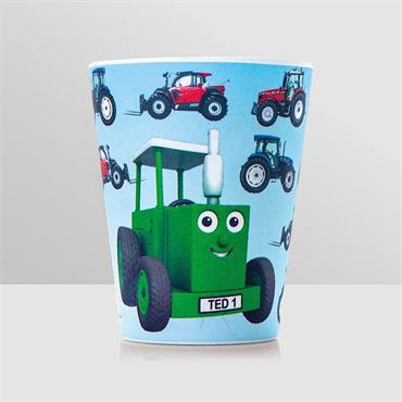 TRACTOR TED BAMBOO BEAKER TRACTOR