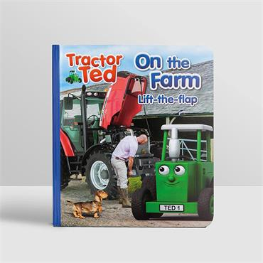TRACTOR TED FLAP BOOK ON THE FARM