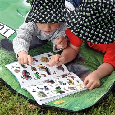 TRACTOR TED STICKER BOOK - TRACTORS