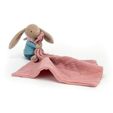 JELLYCAT BUNNY RAMBLER SOOTHER