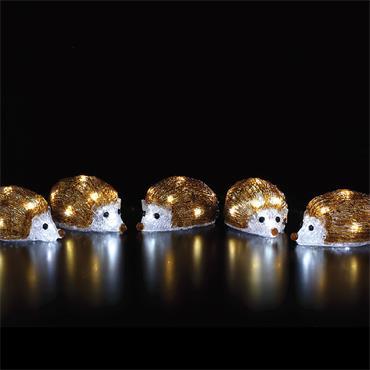NOMA 5 ACRYLIC HEDGEHOG STRING LIGHTS