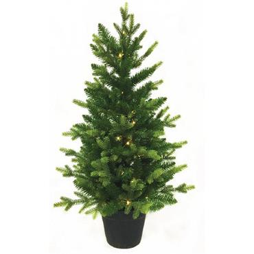 NOMA 3' WARM WHITE PRE LIT ST MORITZ POTTED TREE