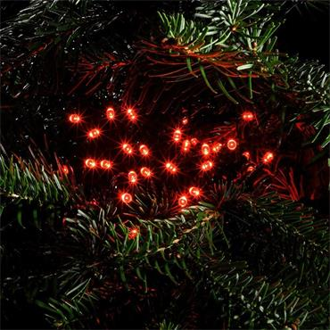 NOMA RED MULTIFUNCTION STRING LIGHTS - GREEN CABLE