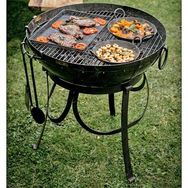 KADAI RECYCLED KIT WITH HIGH/LOW STANDS