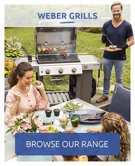 Weber grills - browse our range