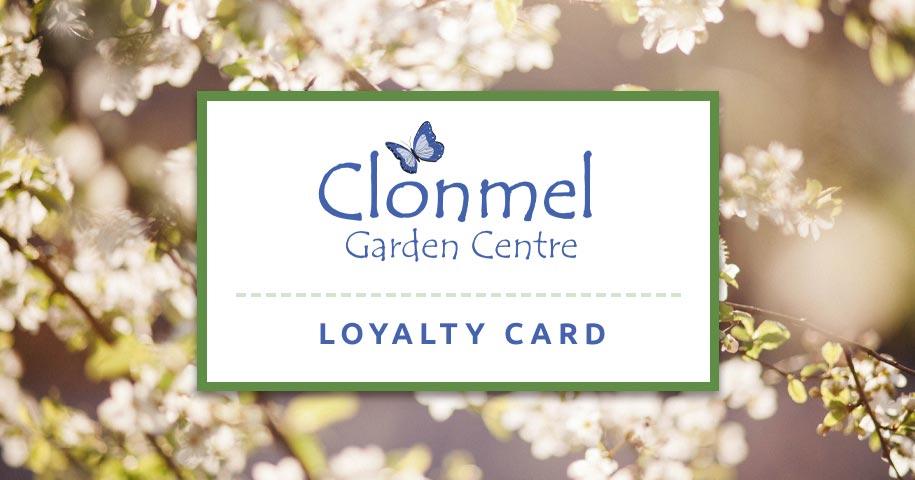 Clonmel Garden Centre Loyalty Card