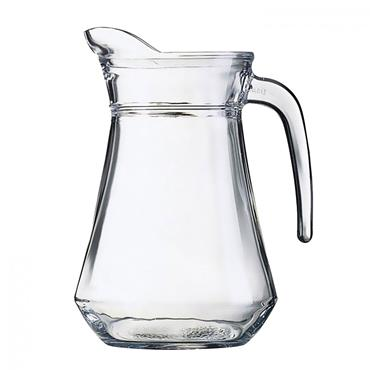 1 LITRE GLASS WATER JUG