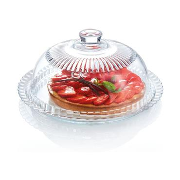 Luminarc 27cm Cheese and Cake Dome Glass Covered Dish | GL1287