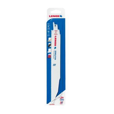Lenox 20597-960R Demolition Reciprocating Saw Blades 225mm 10 TPI (Pack 2) | LEN20597