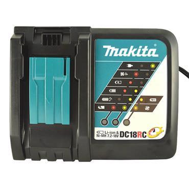 Makita 7.2-18V Li-ion Battery Charger 240V   DC18RC