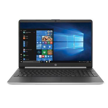 "HP  15.6"" Intel Pentium Gold Laptop 4GB RAM 128GB SSD - silver 