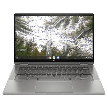 "HP 14"" Chromebook x360 Touch Convertible Laptop Pentium 6405U 4GB 64GB eMMC - GOLD"