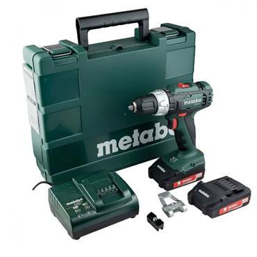 Metabo SB18L Combi Hammer Drill 18V 2 x 2.0Ah Li-ion | XMS19MCOMBI