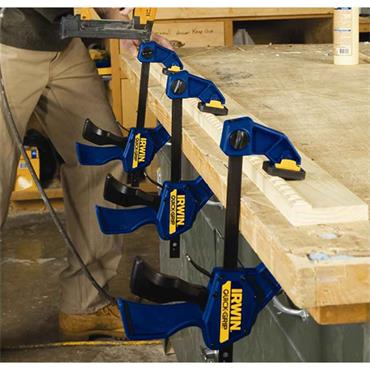 Irwin Quick-Change Medium-Duty Bar Clamp 300mm (12in) (Twin Pack) | XMS21CLAMP12