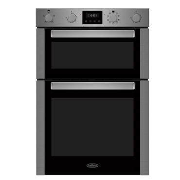 Belling Built-In Multifunction Double Oven Stainless Steel | BI909MFSTA