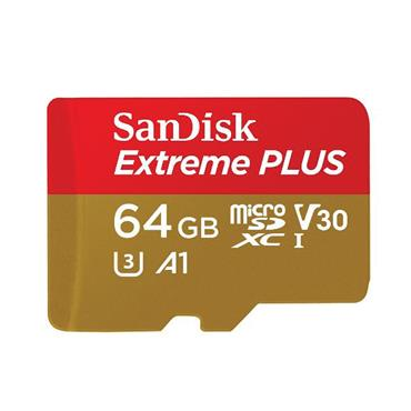 Sandisk Extreme memory card 64 GB MicroSDHC Class 10 | SDE64GBMSD160MB
