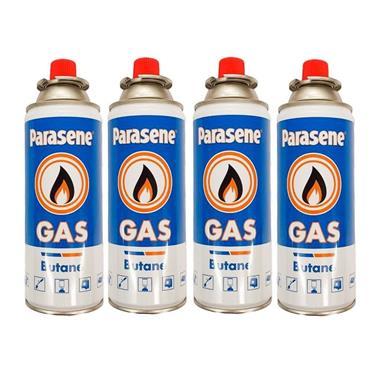 Parasene Camping Gas Butane Gas 227g 4 Pack | 0045-54