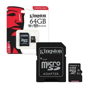 Kingston 64gb Micro SD Memory Card