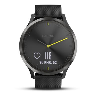 Garmin vívomove HR Fitness Tracker and Smart Watch Black | 49-GAR-010-01850-01