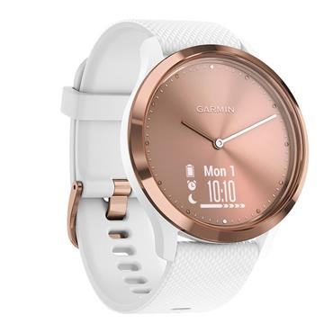 GARMIN VIVOMOVE HR SPORT ROSE GOLD-WHITE S/M | 49-GAR-010-01850-02
