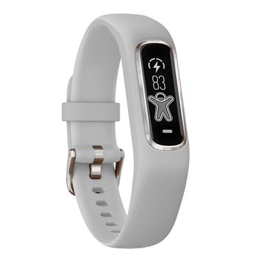 garmin Vivosmart 4 Powder Grey with Silver Bezel Regular | 49-GAR-010-01995-02