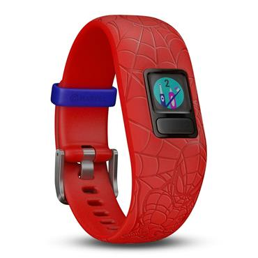 Garmin Vivofit JR2 Marvel Spider-Man Red Kids Fitness Tracker | 49-GAR-010-01909-16