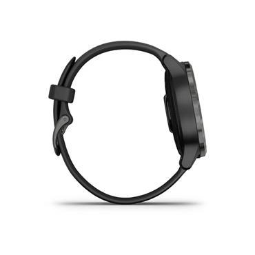 Garmin Vivoactive 4s Smart Watch - Gunmetal Black | 49-GAR-010-02172-12