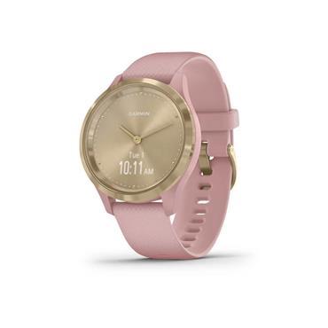 Garmin Vivomove 3s Sports Smart Watch - Champagne Rose | 49-GAR-010-02238-01