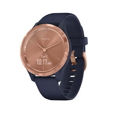 Garmin Vivimove 3s Sports Smart Watch 39mm - Rose Gold and Blue | 49-GAR-010-02238-03