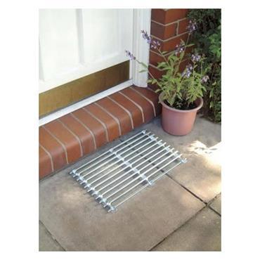 Galvanised Metal Scraper Door Mat 50cm x 30cm | 0098-02