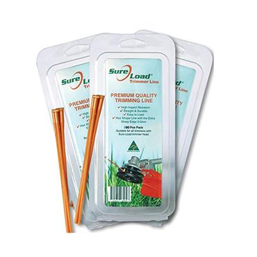 Sure Load Strimmer Line 3mm 80 Pack | EP101