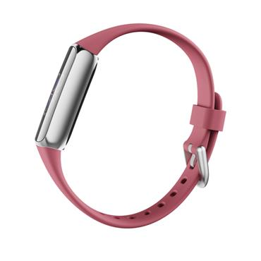 Fitbit Luxe FitnessTracker Smart Watch -  Orchid & Platinum Stainless Steel | 79-FB422SRMG