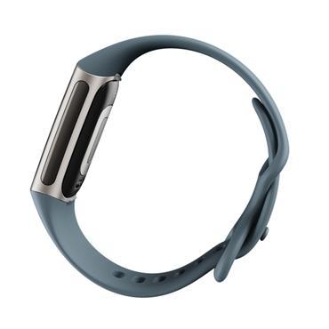 Fitbit Charge 5 Fitness Tracker - Blue Steel / Platinum | 79-FB421SRBU