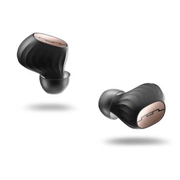 Sol Republic Amps Air Wireless In-ear Headphones - Black & Rose Gold   SOL-EP1190GD
