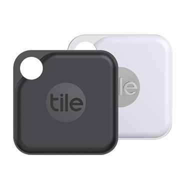 Tile Tile Pro Bluetooth Tracker 2 Pack - Black & White Slim Box | 89-RE-20002