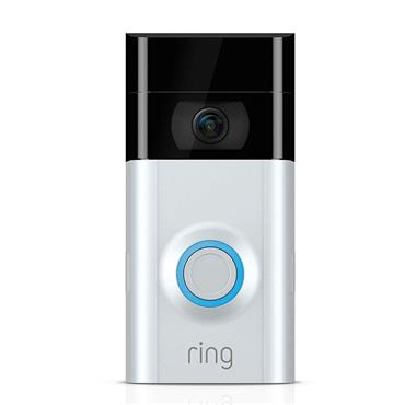 RING VIDEO DOORBELL 2 SATIN NICKEL | 64-8VR1S7-0EU0